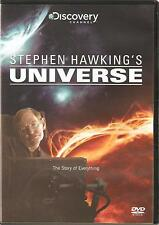 STEPHEN HAWKING'S UNIVERSE - THE STORY OF EVERYTHING DVD