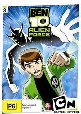 Ben 10 - Alien Force : Vol 3 (DVD, 2009) New Region 4