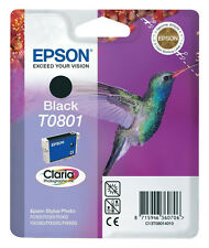 EPSON Nr. T0801 DRUCKERPATRONEN R360 R285 RX585 R265