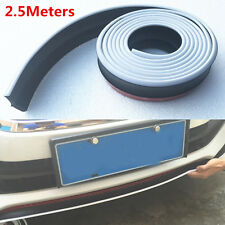 2.5M Car Body Bumper Skirts Strip Lower Lip Rubber Spoiler External Decoration