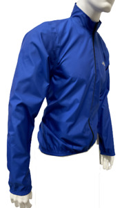 GSG CYCLING Packable Wind Jacket Blue Made in Italy by GSG