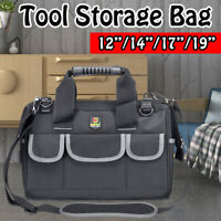 Heavy Duty Tool Bag Case Portable Oxford Cloth Multi-size Hardware Pouch New