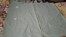 Ralph Lauren Thyme Green Gingham King Pillowcases (2) Pair