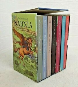 The Chronicles of Narnia Boxed Set C. S. Lewis Full-Colour Collector's Edition