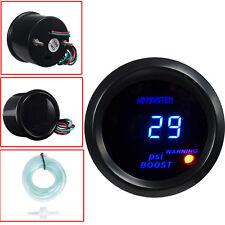 """2"""" 52mm Blue Digital LED 30 PSI Boost Gauge Meter for Car Motor Truck HOTSYSTEM"""