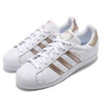 adidas Originals Superstar W White Rose Gold Women Classic Shoes Sneakers CG5463