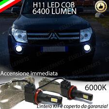 COPPIA LAMPADE H11 LED CANBUS FENDINEBBIA MITSUBISHI PAJERO 6400L 6000K