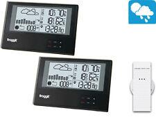 Wireless Weather Station ws800 Twin (2 Display) Slimline Barometer