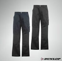 Mens Dunlop Classic Pockets Cargo Combat Trousers Work Wear Sizes S-XXXXL