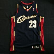 NBA AUTHENTIC LeBron James Cleveland Cavaliers Adidas Alternate jersey 40