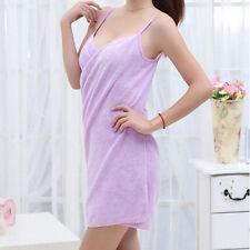 Microfiber Wearable Towel Bathrobe Fast Dry Washcloth Wrap Women Bath Towels