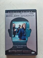 Being John Malkovich Dvd 1999 - John Cusack/Cameron Diaz