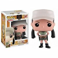 "THE WALKING DEAD ROSITA  3.75"" POP VINYL FIGURE FUNKO 387 BRAND NEW"