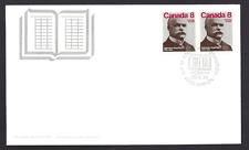 Canada  FDC  # 661    ALPHONSE  DESJARDINS     1975 Pair  New Fresh Unaddressed