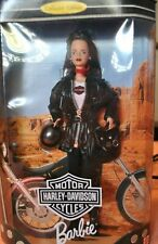 "Harley-Davidson #2 1998 Barbie Doll 12"" Nib, incredible detail, original package"