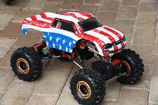 Custom Body American Flag for Redcat Racing Rockslide / Everest 1/10