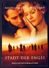 Stadt der Engel - Nicolas Cage & Meg Ryan - Film Presseheft (Y-7222+