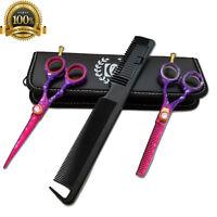 "USA Professional Hair Cutting Japanese Scissors Barber Stylist Salon Shears 5.5"""