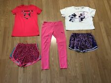 Girls Lot Size Large Nike, Under Armour & Puma 5 Pieces! Euc ~ Nice 💖
