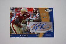 2009 Sage Hit BJ Raji Rookie Autographed Card #A69 46/250