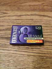 NEW Maxell Hi8 Digital 8 XR-Metal Professional Quality 8MM Camcorder Video Tape