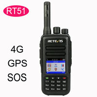 Retevis RT51 4G Network GPS WCDMA Handset PTT Walkie Talkies Linux ROM Talk Free