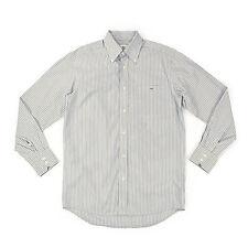 LACOSTE Devanlay Herren Hemd 38 S langarm gestreift Men Shirt Oberteil wie NEU