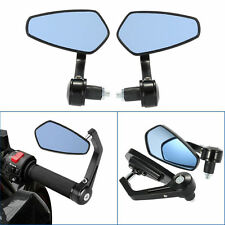 """7/8"""" Handle Bar End Motorcycle Rear view Mirror For Royal Enfield"""