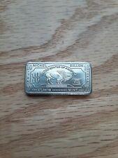 10 Gram Nickel Bullion Bar - Buffalo