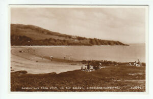 Sandyhills On The Solway Kirkcudbright 1939 Real Photograph Valentines A8394