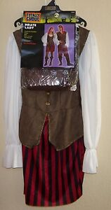 womens NEW NWT one size fits most PIRATE LADY HALLOWEEN COSTUME DRESS BELT BOOT