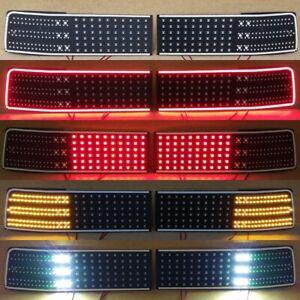 "Toyota Supra MK3 ""HELLCAT V2"" LED Lanterns Conversion Kit  (restyle 89+)"