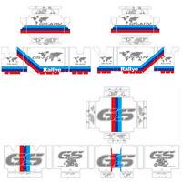3x Reflective Decorative Sticker RA R1200GS GSA R1250GS ADV For BMW Original Box