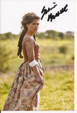 POLDARK* SABRINA BARTLETT 'KEREN' SIGNED 6x4 ACTION PHOTO+COA *GAME OF THRONES*