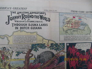 AMERICA GREATEST COLOR COMIC SECTION SUNDAYJUNE 23,1935  page only