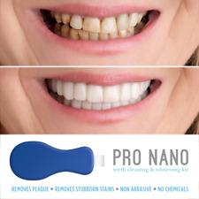 Nano Pro Blanchiment Dentaire Kit Dents Nettoyage Brosse Taches Solvant
