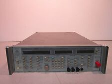 Wiltron Swept Frequency Synthesizer 6737B-20, Opt: 01, 50-400Hz, 220VA, Power On