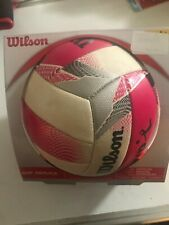 Wilson AVP Mini Replica Beach Volleyball - Pink/White