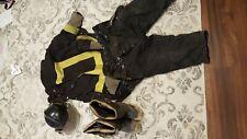 Firefighter Lot Bunker Gear Turnout Helmet Vintage Hip boots fireman