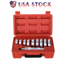 New 10pc Aluminum Wheel Bearing Race And Seal Driver Master Tool Kit Set US