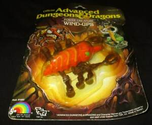 CAVE FISHER ADVANCED DUNGEONS & DRAGONS WIND-UP POWER CREATURE LJN MOC AD&D RARE