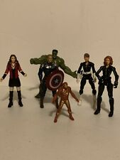 marvel avengers action figures lot 3.75 Inch Maria Hill Hulk Black Widow Cap