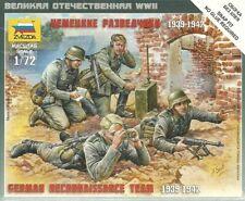 Zvezda 1/72 equipo de reconocimiento alemán de la segunda guerra mundial (1939-1942)