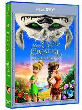 """dvd + blu-ray """"Clochette et la Créature Légendaire"""" Disney  NEUF SOUS BLISTER"""