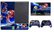 Mario 906 Vinyl Cover Skin Sticker for Xbox One & Kinect & 2 controller skins