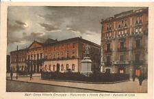 BARI - Corso Vittorio Emanuele - Monumento a Nicolò Piccinni - Palazzo di Città