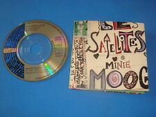 MINI CD 2T 8CM / LES SATELLITES / MINIE MOOG + MINIE DUB / SQUATT SONY 1991 TBE