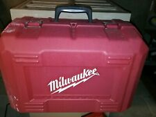 Milwaukee Circular Saw Carry Carrying CASE ONLY HEAVY DUTY Tilt-Lock Red Tool