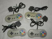 Nintendo Super Famicom 4 controller set SNES  Japan SFC