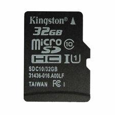 32GB KINGSTON Micro SDHC Micro Sd TF Class10 Uhs-I Karte genuine NEW 32 GB